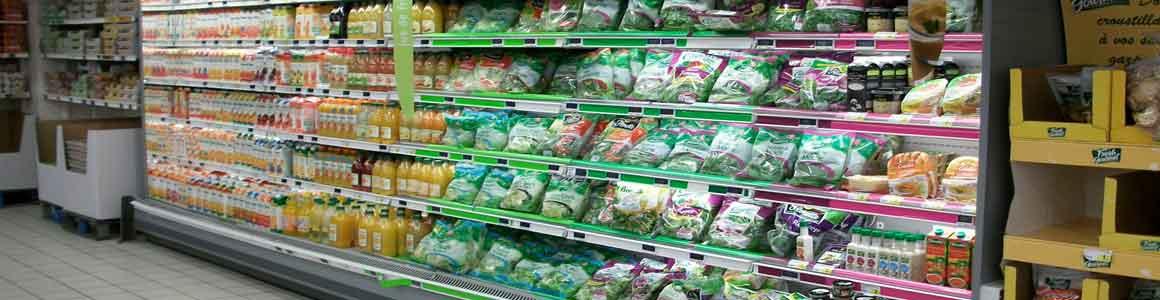 mobilier frais supermarché