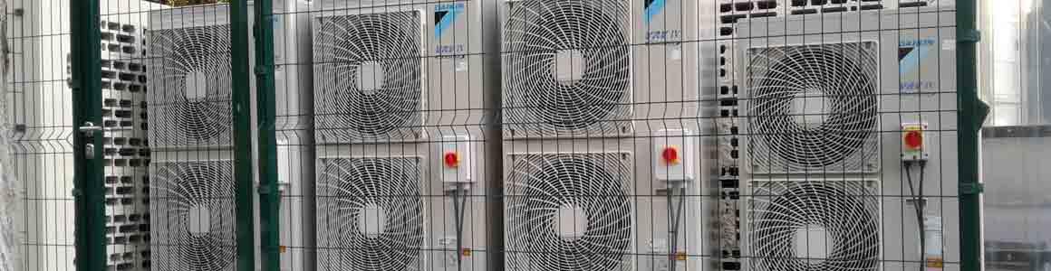 installation groupe climatiseurs daikin industrie montpellier