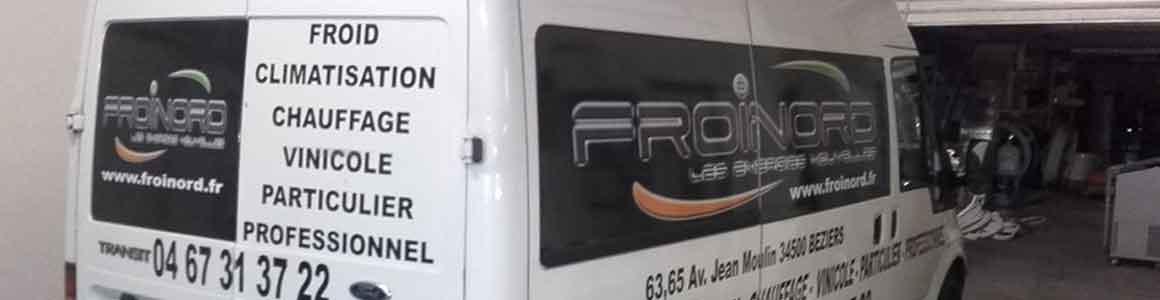 vehicule depannage frigoriste froidnord